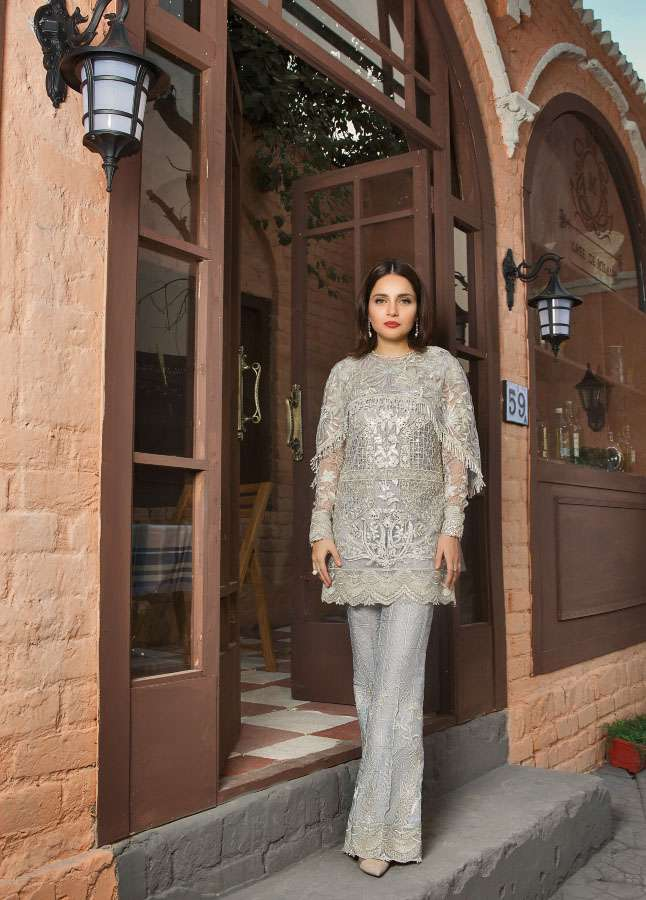 Epoque Suffuse by Sana Yasir Embroidered Cotton Net Unstitched 3 Piece Suit ESY17C 08