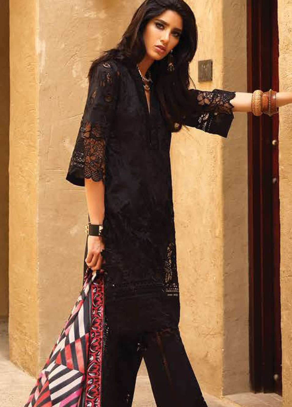 Faraz Manan Embroidered Pima Cotton Unstitched 3 Piece Suit FZM19L 15 - Spring / Summer Collection