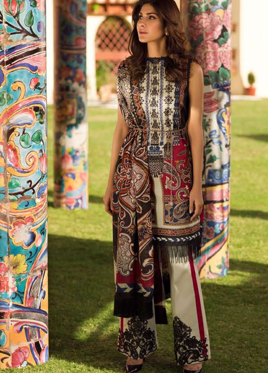Firdous Fashion Embroidered Lawn Unstitched 3 Piece Suit FR19L 07 - Spring / Summer Collection