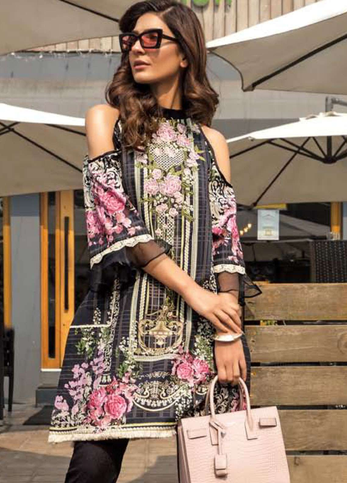 4bb5575b4c Firdous Fashion Embroidered Lawn Unstitched Kurties FR19K1 7 - Spring /  Summer Collection