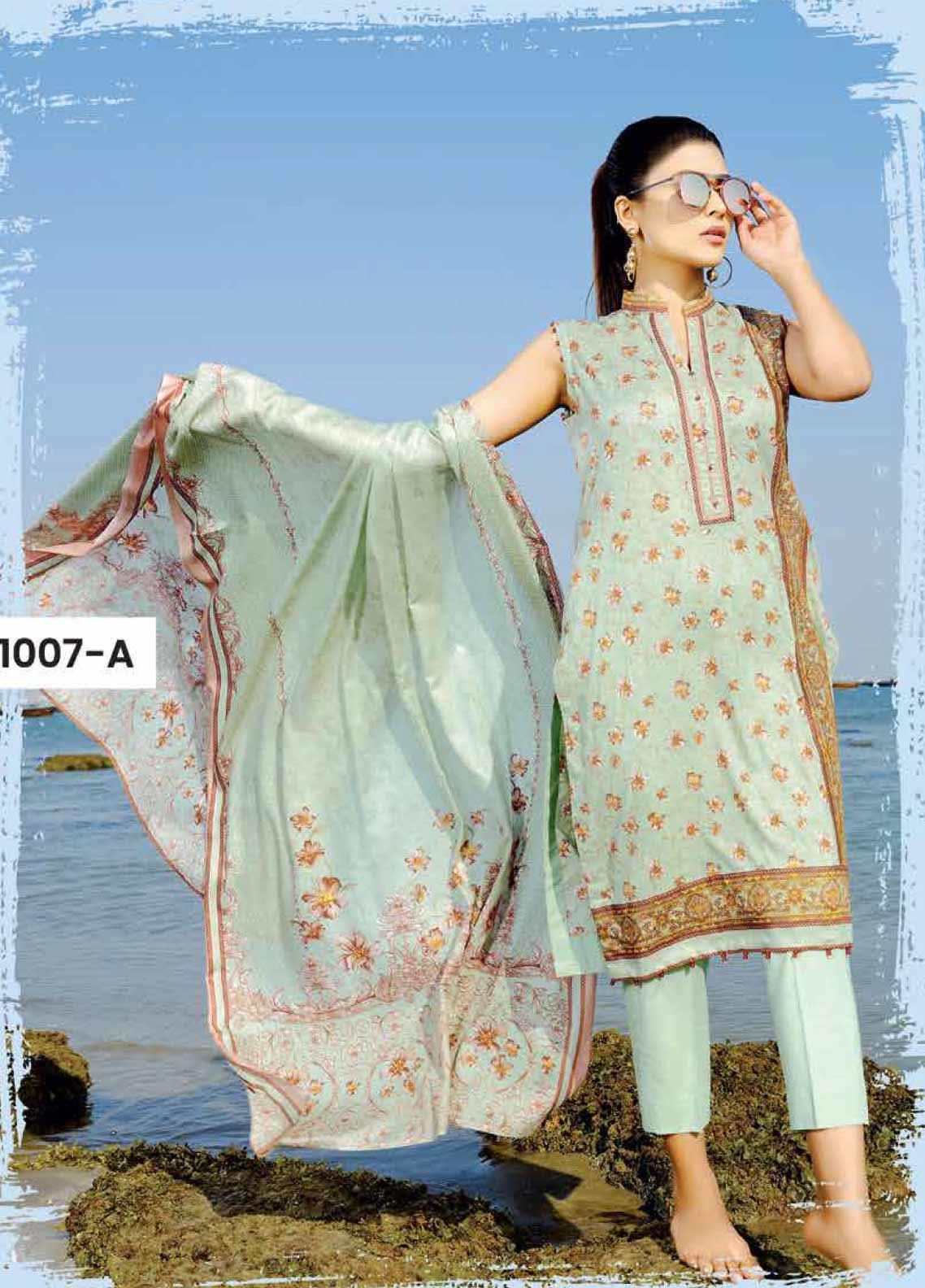 Sapphire Latest Eid Lawn Collection 2018-2019 Luxury ... |Five Star Lawn Eid Collection