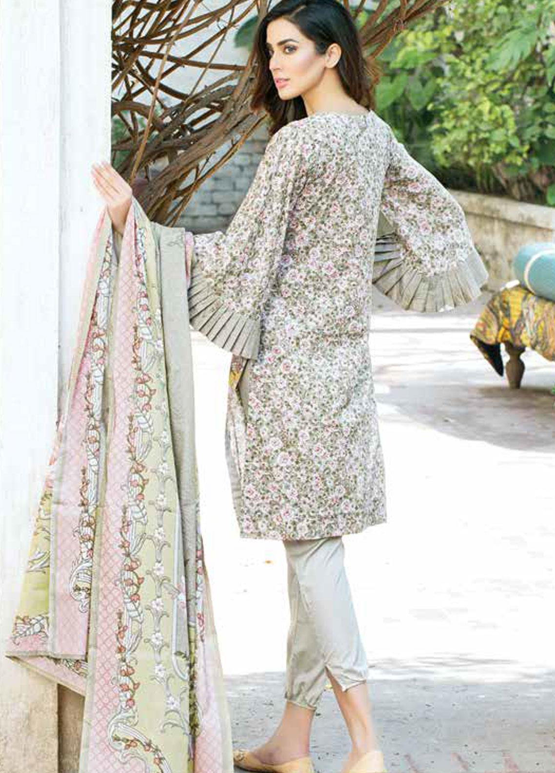 557e1fd4d5 Five Star Printed Lawn Unstitched 3 Piece Suit FS19-L3 1020C - Spring / Summer  Collection