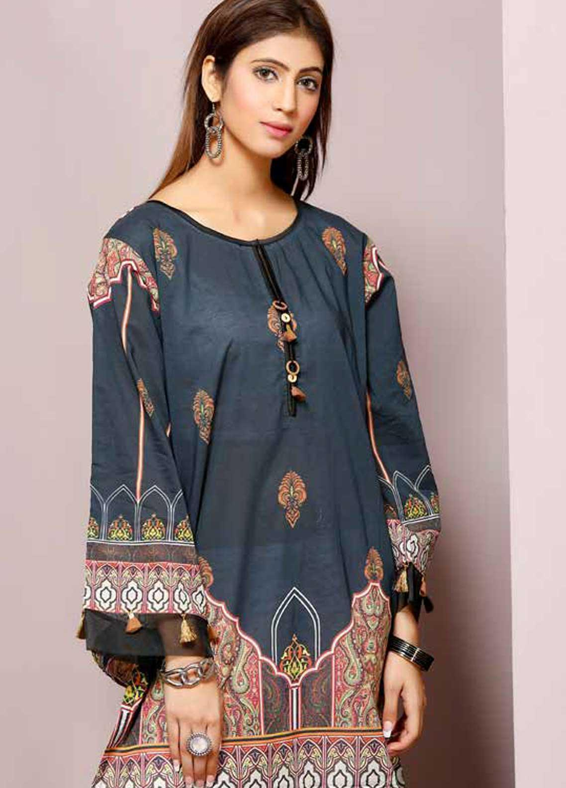 129520beac Florence by Mohagni Printed Lawn Unstitched Kurties FMO19-T2 20 - Mid Summer  Collection