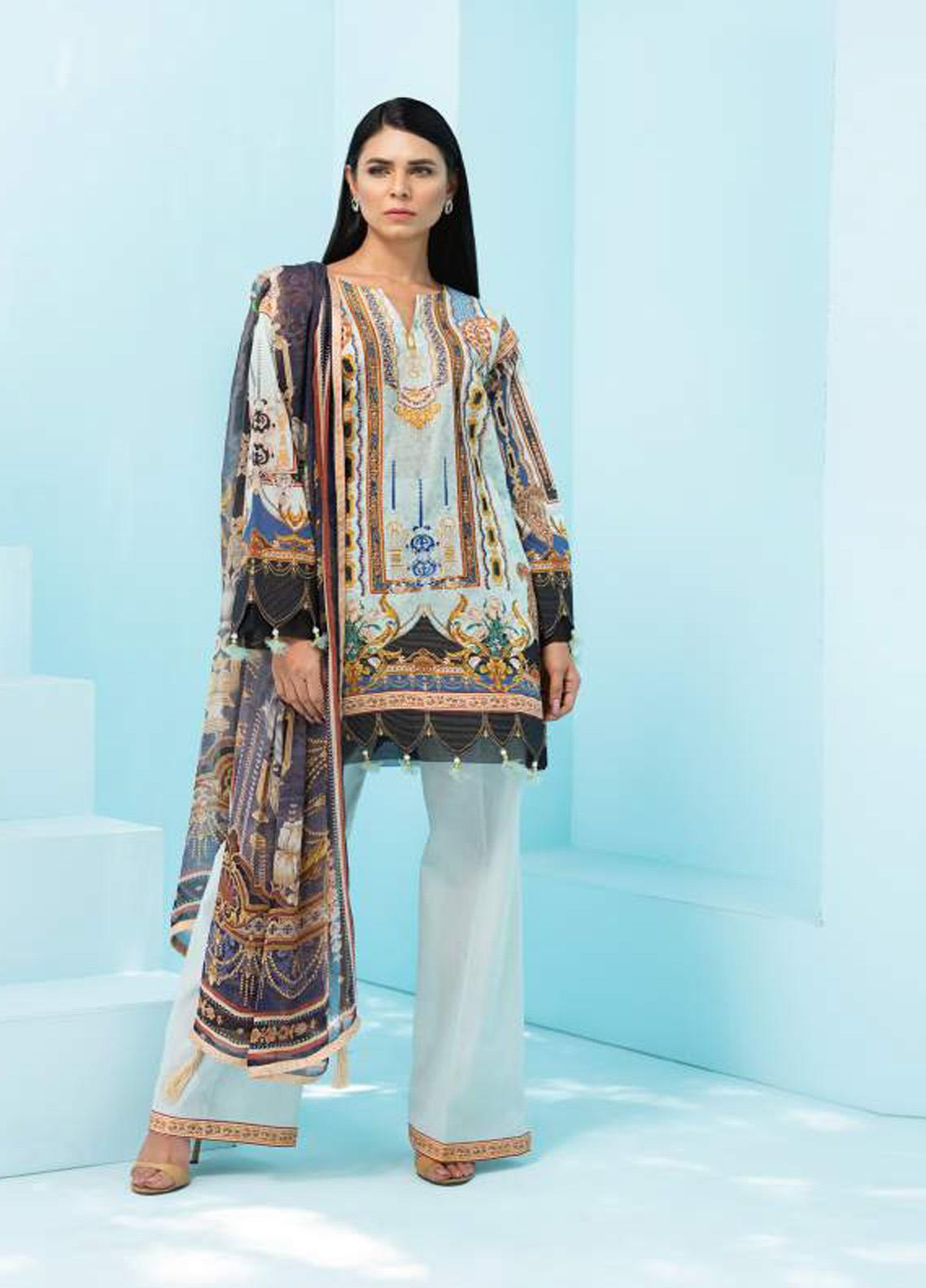 Florence by Rang Rasiya Embroidered Lawn Unstitched 3 Piece Suit RR20SF F538 - Spring / Summer Collection