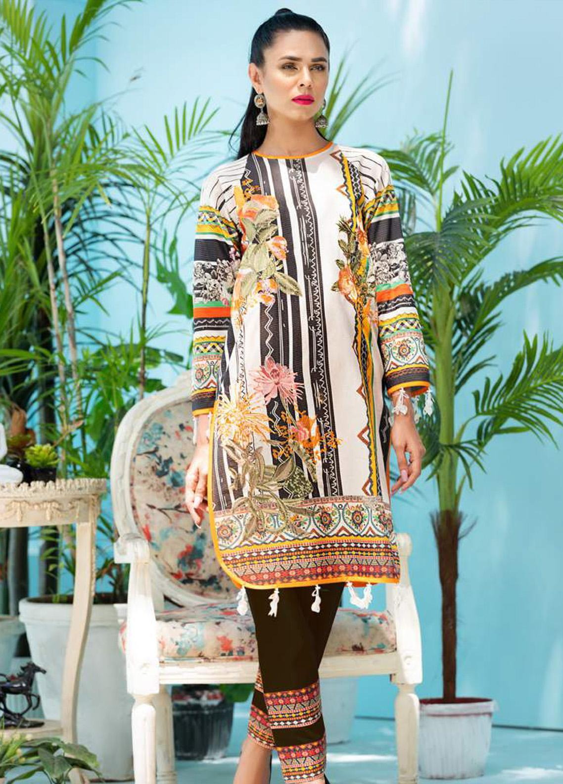 Florence by Rang Rasiya Embroidered Lawn Unstitched 3 Piece Suit RR20SF F540 - Spring / Summer Collection