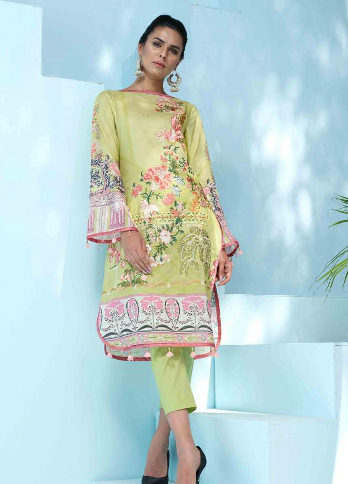 Florence by Rang Rasiya Embroidered Lawn Unstitched 3 Piece Suit RR20SF F541 - Spring / Summer Collection