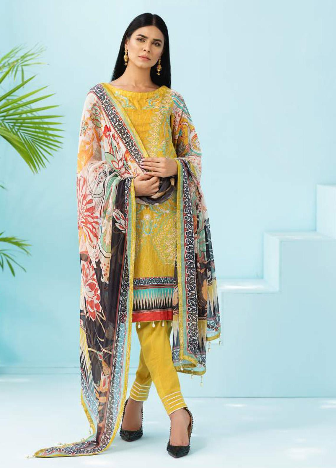 Florence by Rang Rasiya Embroidered Lawn Unstitched 3 Piece Suit RR20SF F549 - Spring / Summer Collection