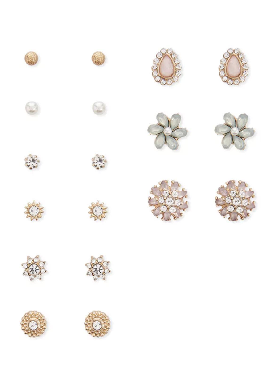 Forever21 Assorted  Stud Earring Set  - Ladies Jewellery