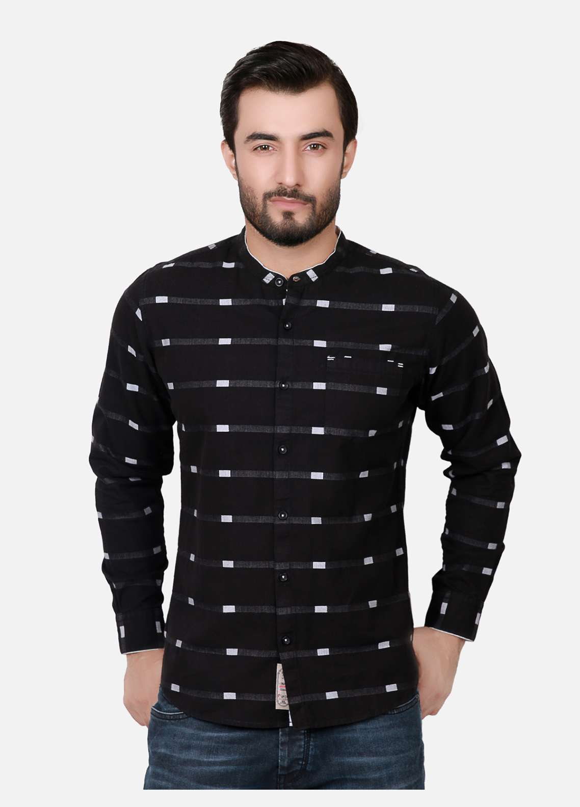 Furor  Casual Shirts for Men - Black FRM18CS 31174