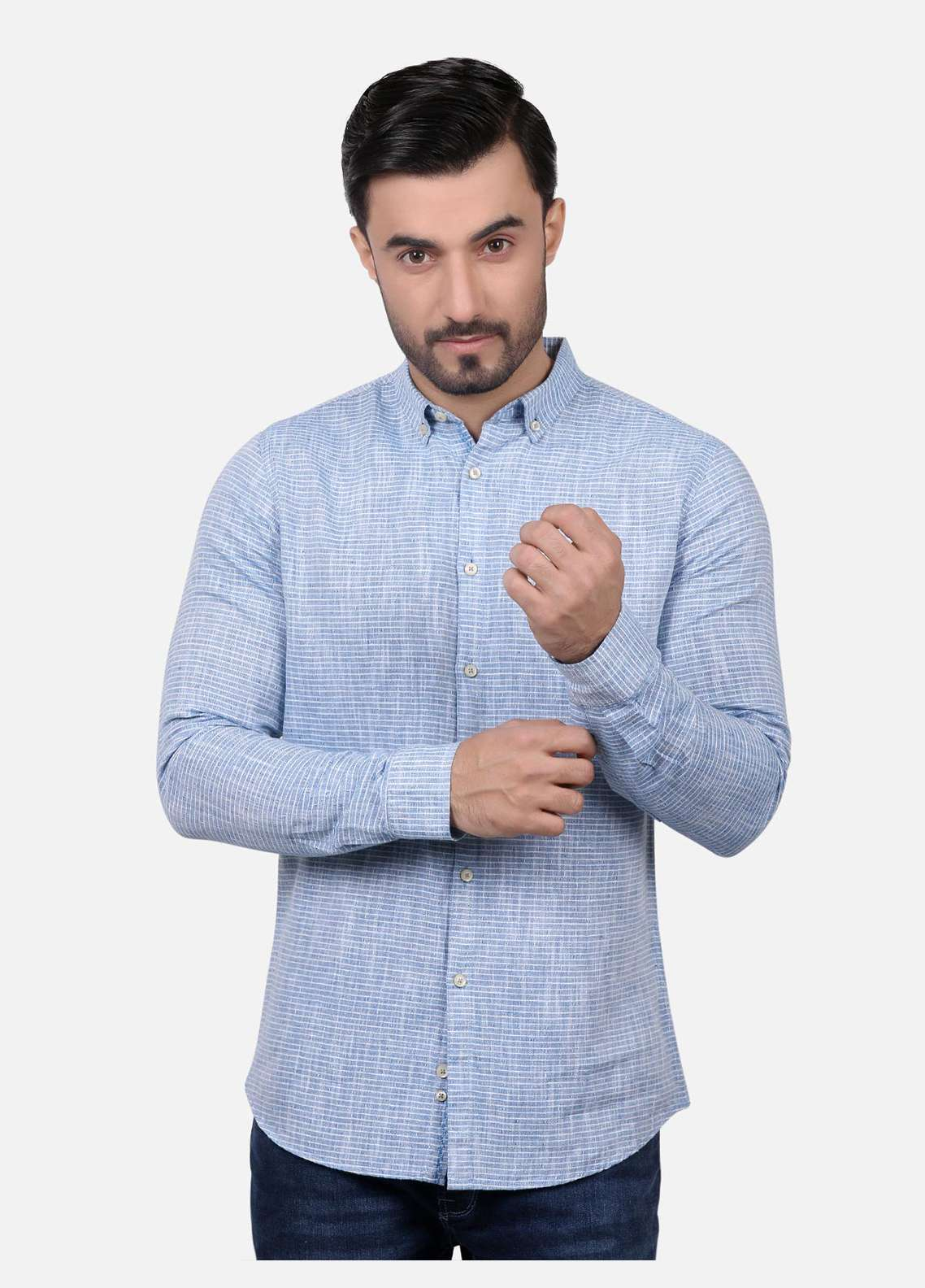 Furor  Casual Men Shirts - Blue FRM18CS 31193