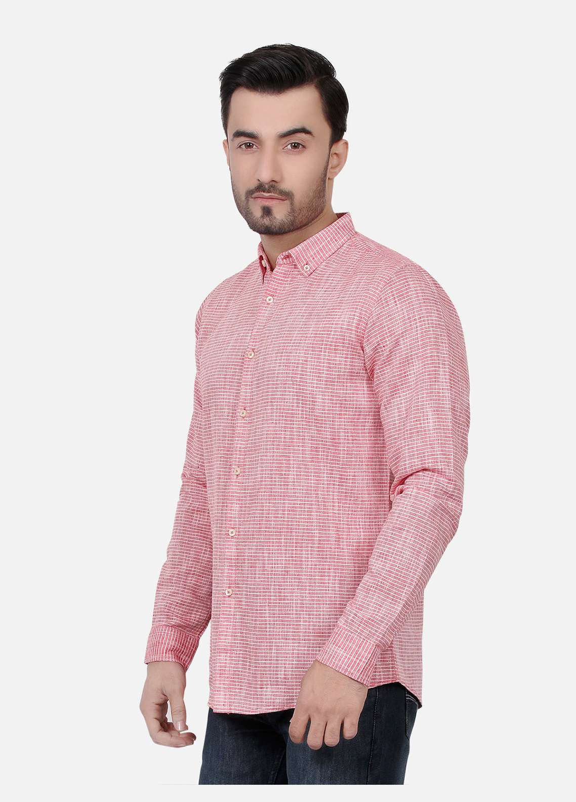 Furor  Casual Shirts for Men - Red FRM18CS 31193