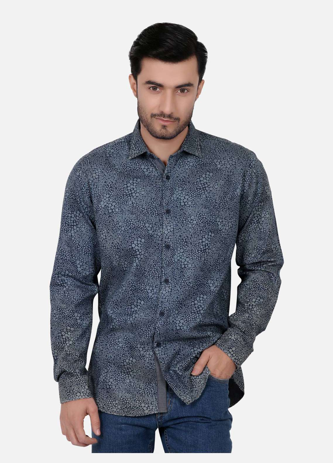 Furor  Casual Men Shirts - Blue FRM18CS 31205