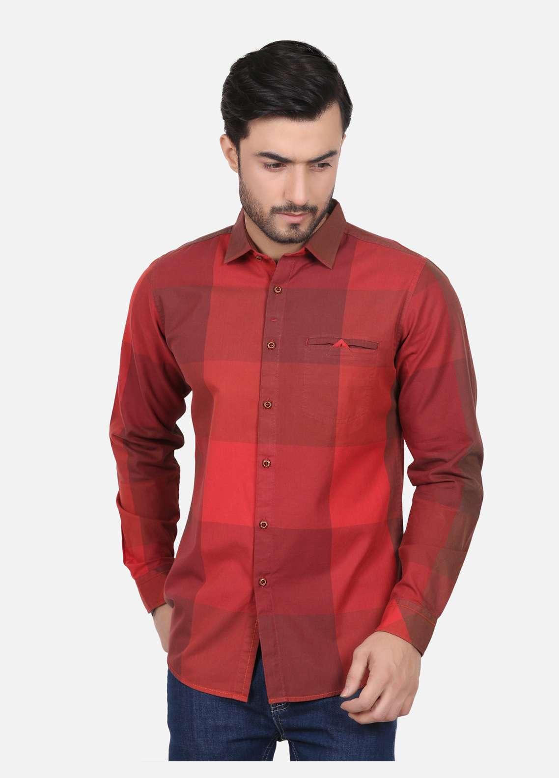 Furor  Casual Men Shirts - Rust FRM18CS 31217