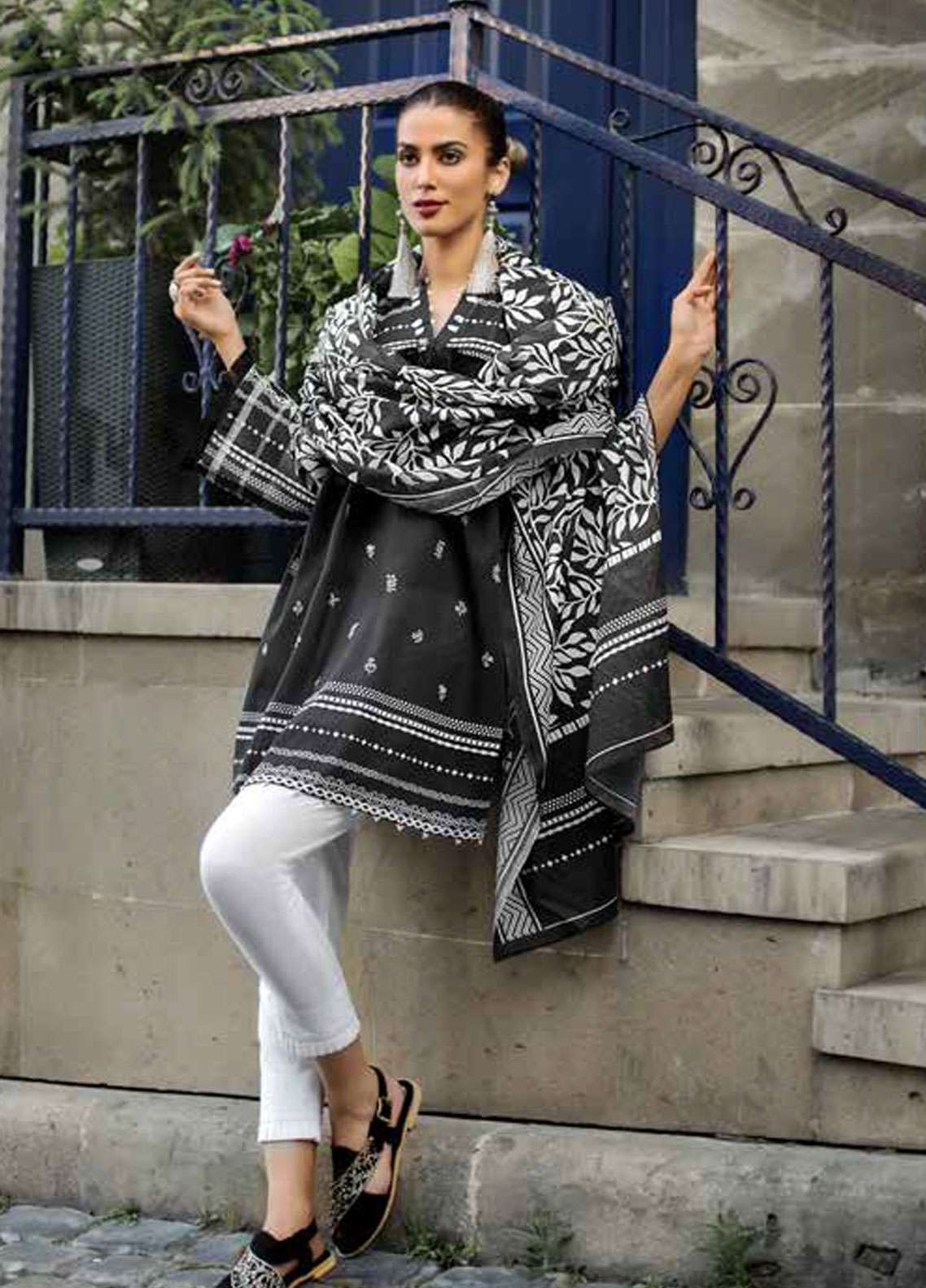 98388f9f5a Gul Ahmed Printed Lawn Unstitched 2 Piece Suit GA18BW BT-04 - Black & White  Collection. PKR 2,679.00. SOLD OUT. Gul ...
