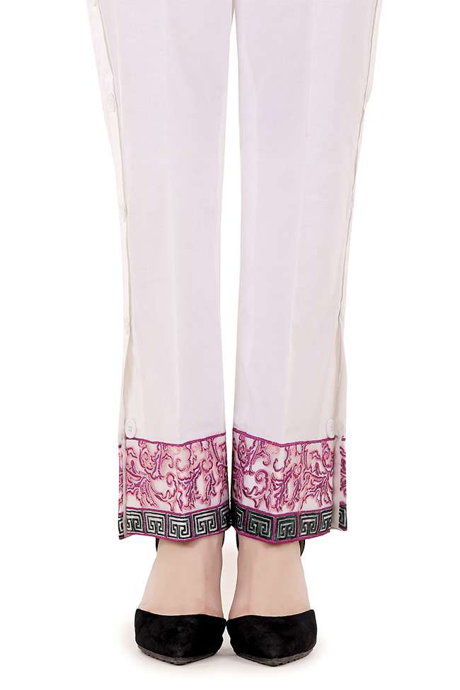 Gulaal Embroidered  Stitched Trouser GL17T 05