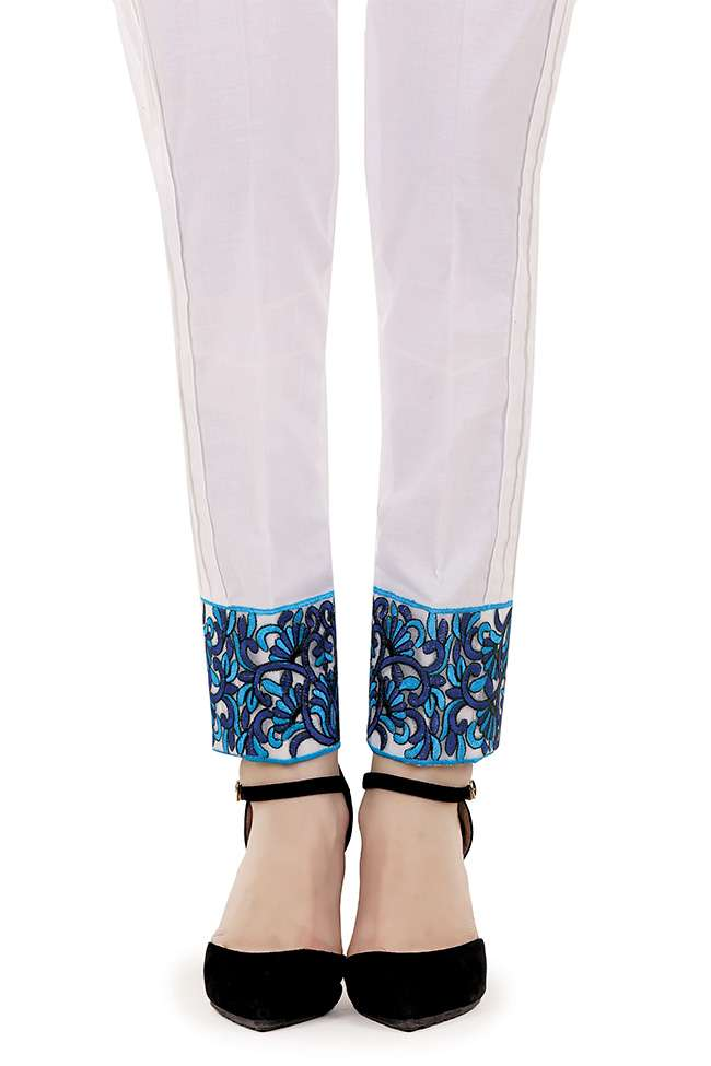 Gulaal Embroidered  Stitched Trouser GL17T 08