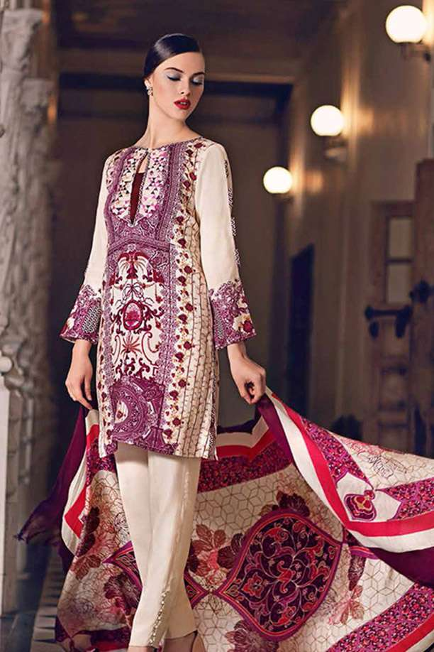 89fd11682 Marina Suits Collection 2019 | Buy Unstitched Ladies Marina Suits ...