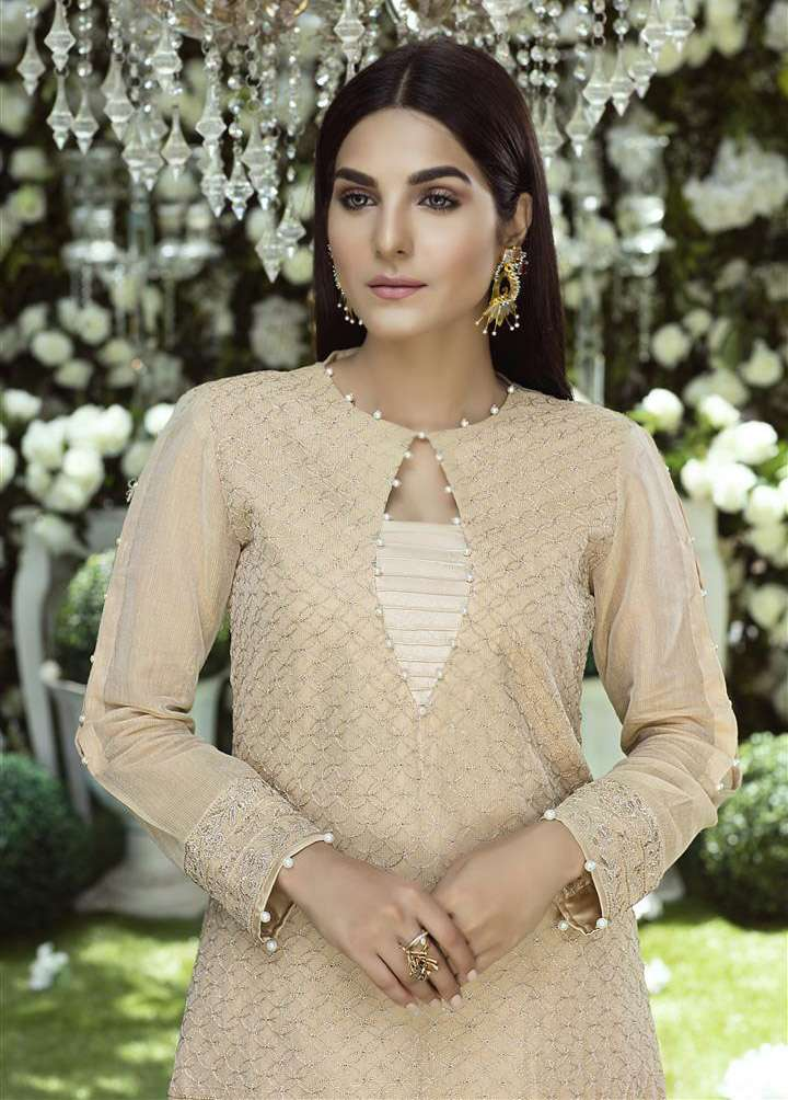 Anahi by Gulaal Embroidered Cotton Net Stitched Kurtis GLP17K 11A