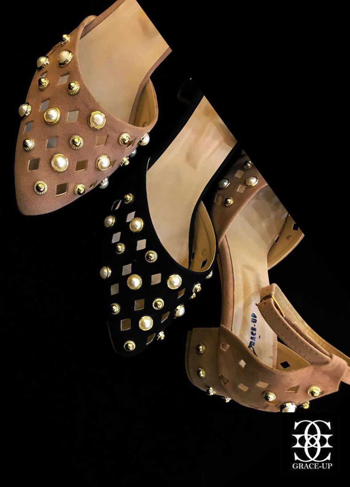 Grace Up Shoes Casual Style  Heel Shoes O439