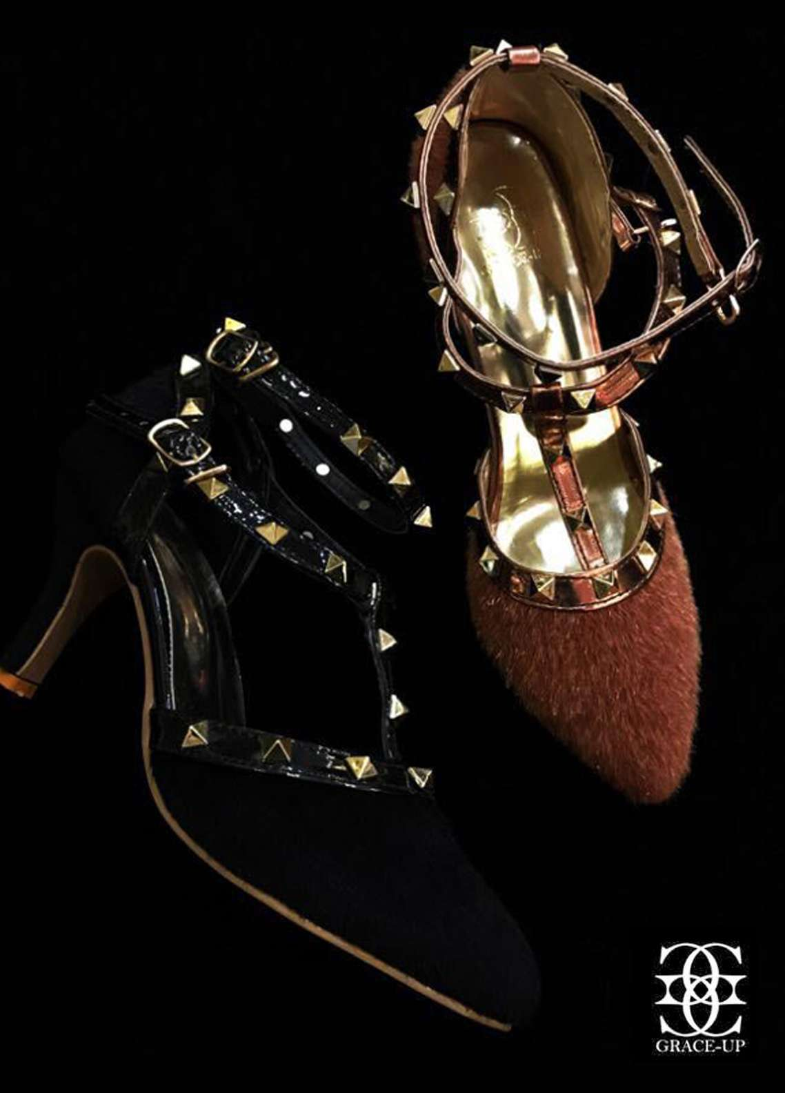 Grace Up Shoes Casual Style  Heel Shoes O446