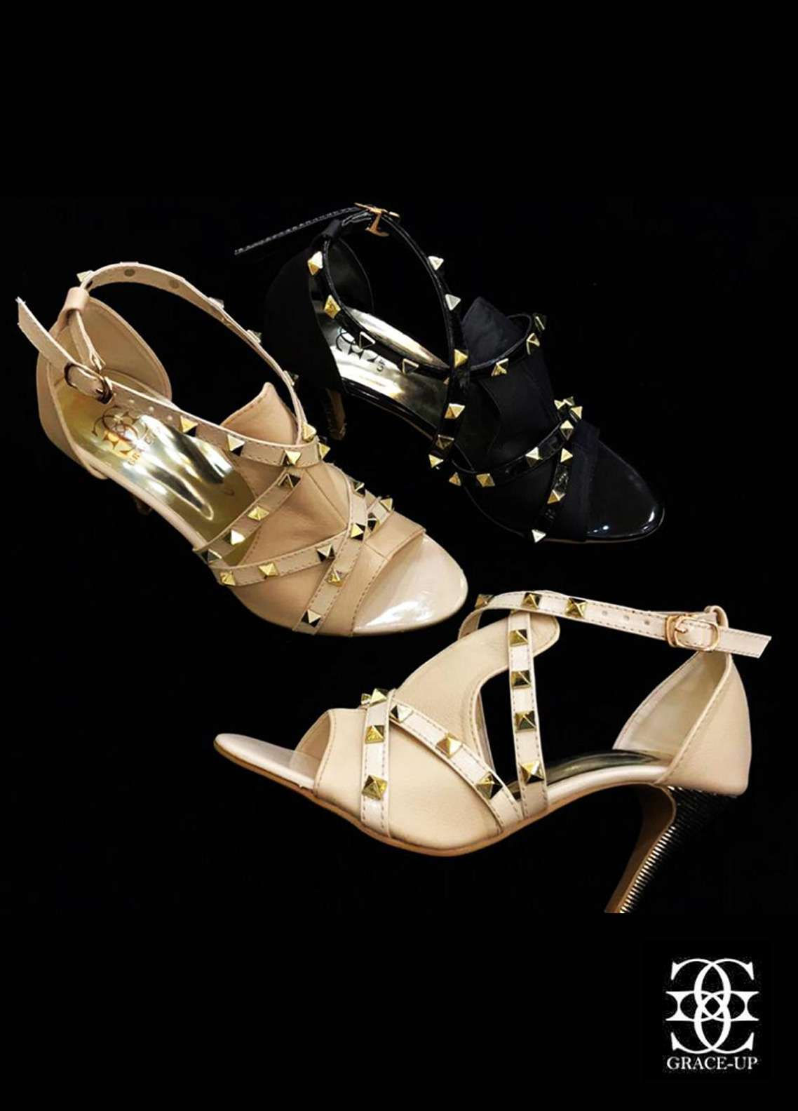 Grace Up Shoes Casual Style  Heel Shoes O447