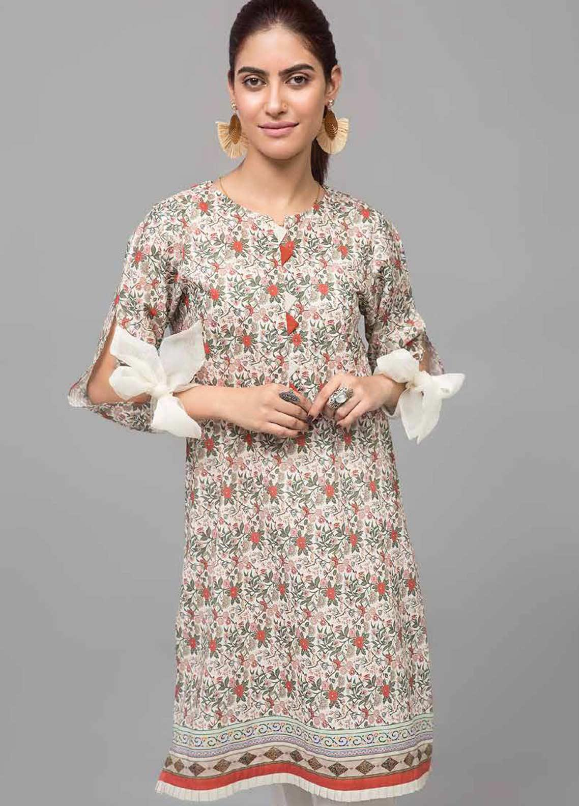 Gul Ahmed Printed Lawn Unstitched Kurties GAB19-L3 SL-740 - Mid Summer Collection