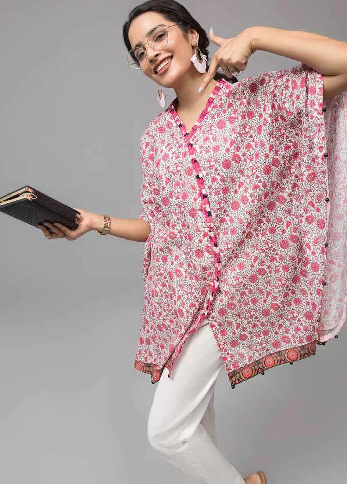 Gul Ahmed Printed Lawn Unstitched Kurties GAB19-L3 SL-745 - Mid Summer Collection