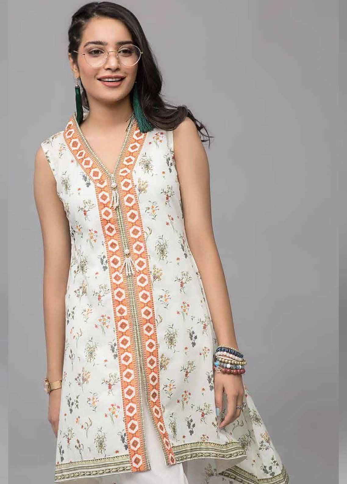 Gul Ahmed Printed Lawn Unstitched Kurties GAB19-L3 SL-746 - Mid Summer Collection