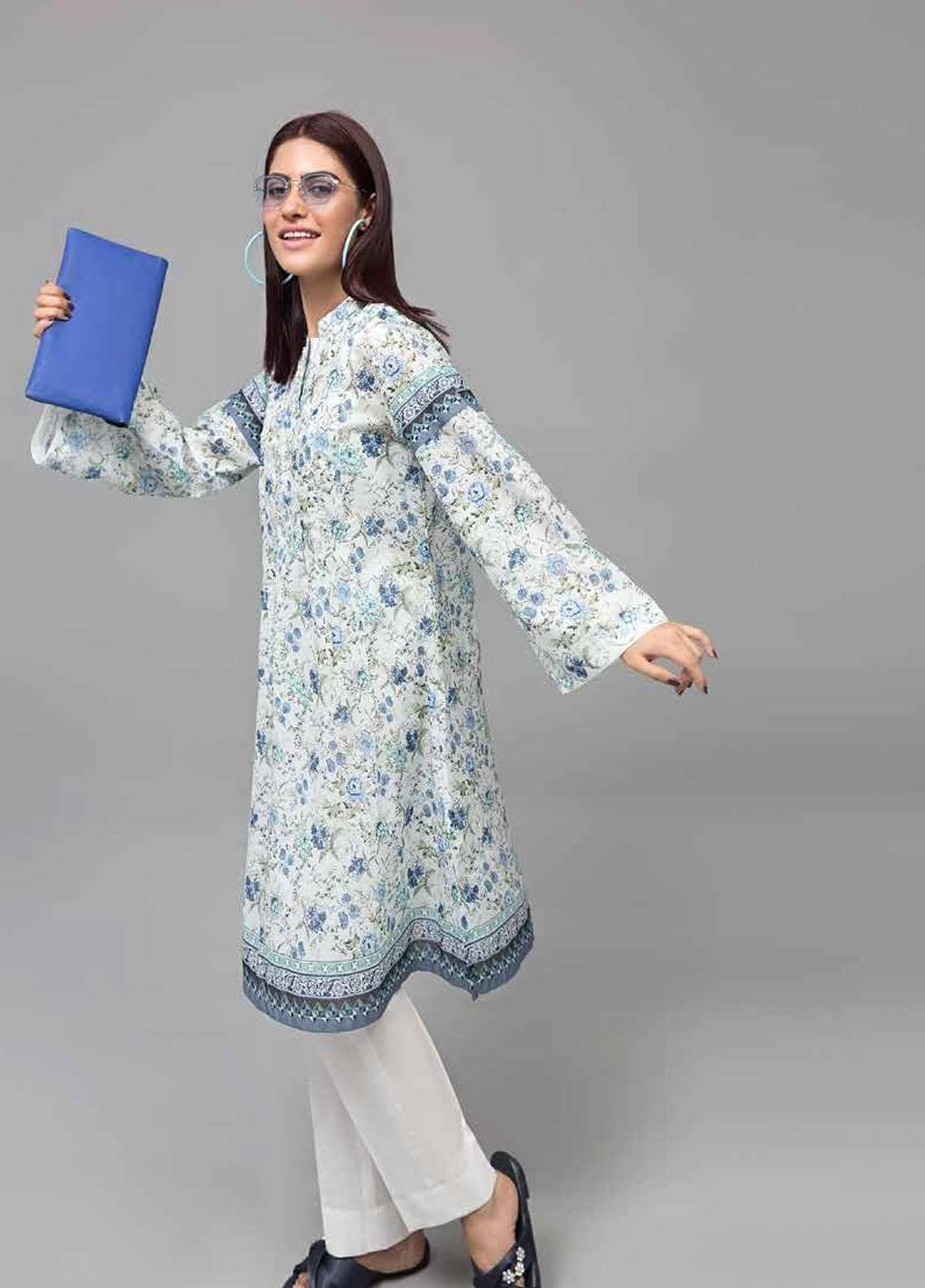 Gul Ahmed Printed Lawn Unstitched Kurties GAB19-L3 SL-753 - Mid Summer Collection
