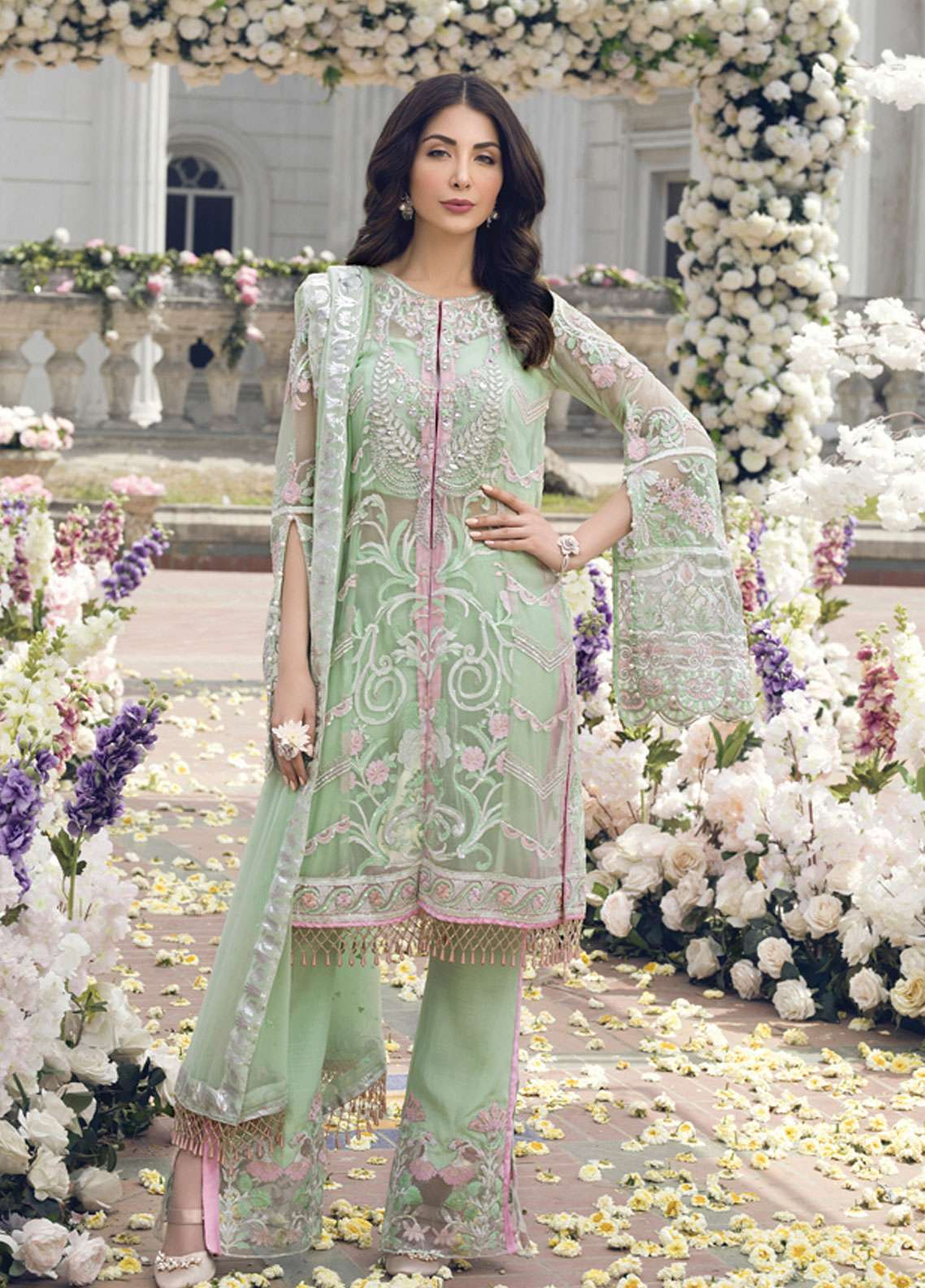 Gulaal Embroidered Chiffon Collection