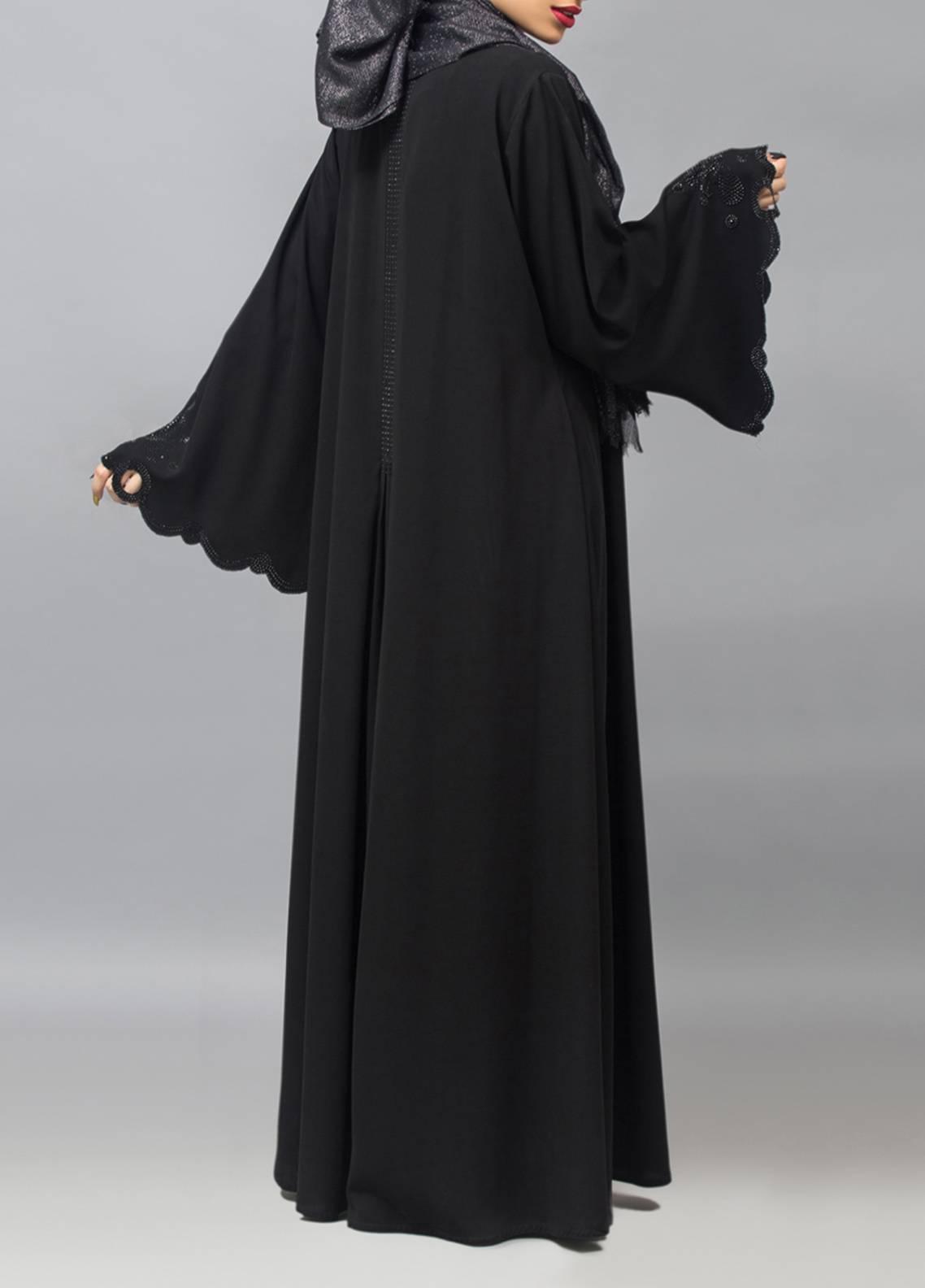 Hijab ul Hareem Front Open Style Stitched Abaya 0121-C-946