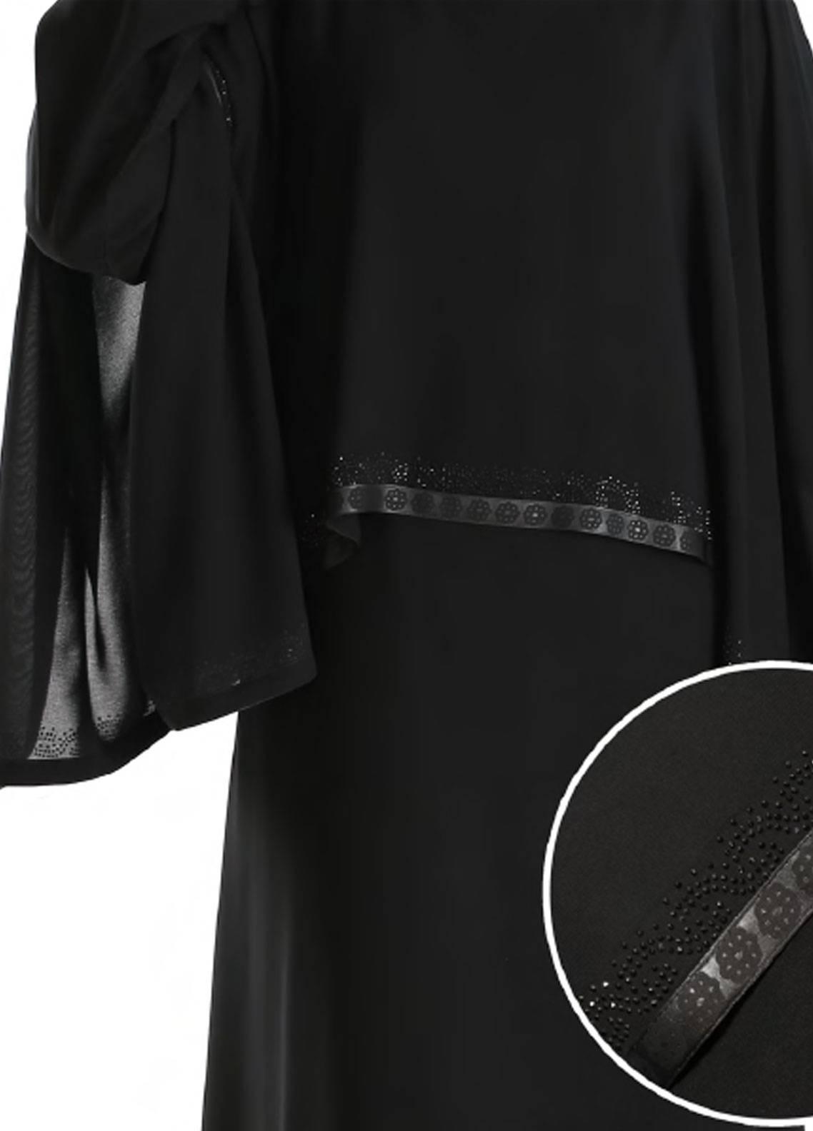 Hijab ul Hareem Pullover  Stitched Abaya 0120-RC-925