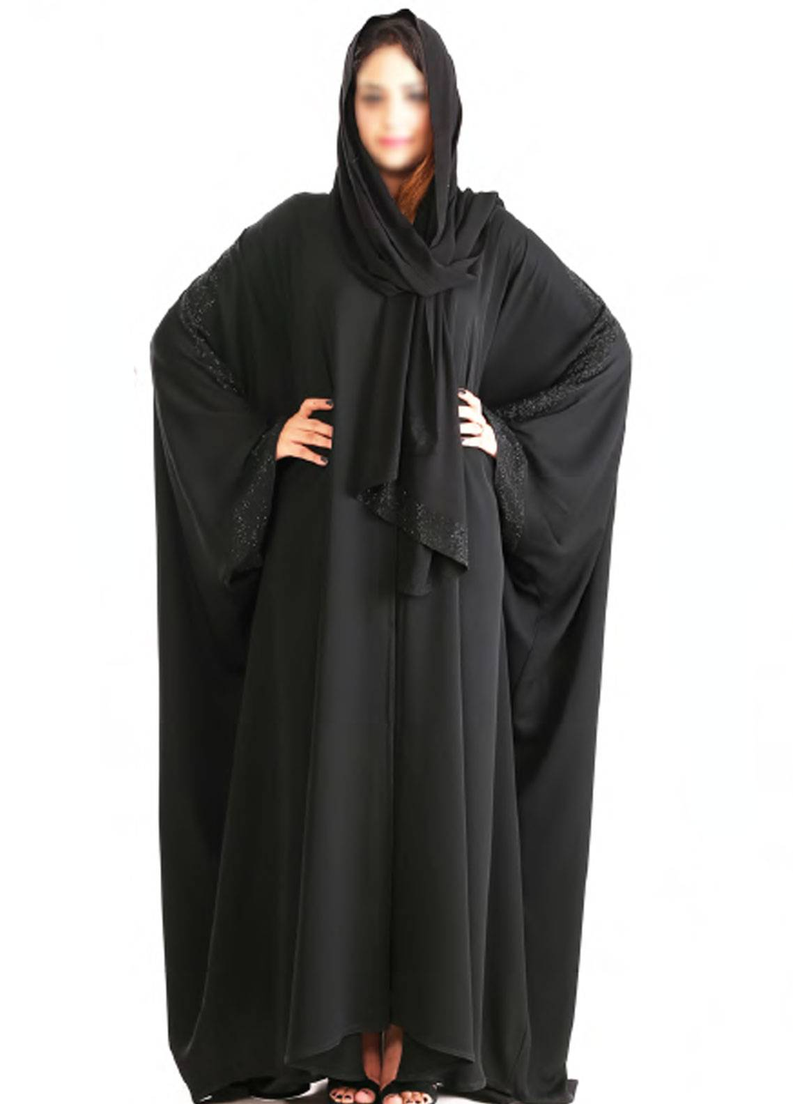 459715dcafa6 Hijab ul Hareem Pullover Stitched Abaya Jilbab-RC-926. Online only