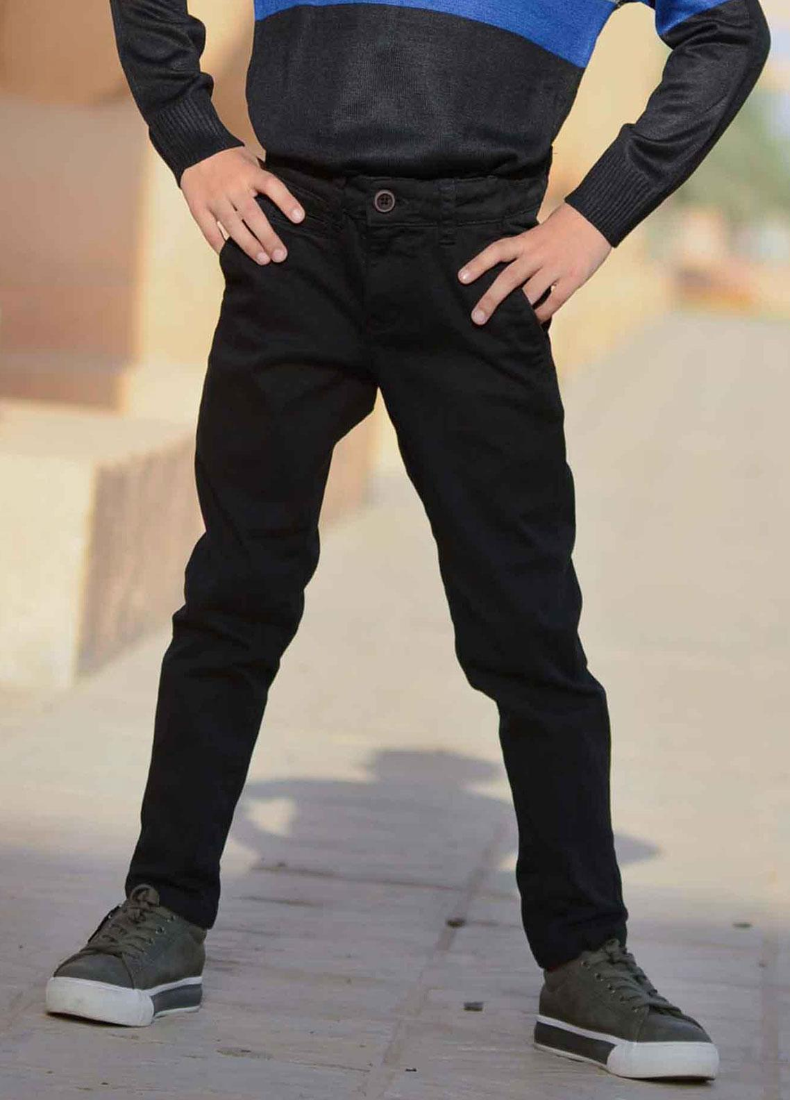 Ignite Wardrobe Cotton Chino Pants for Boys -  IG20PNK 001