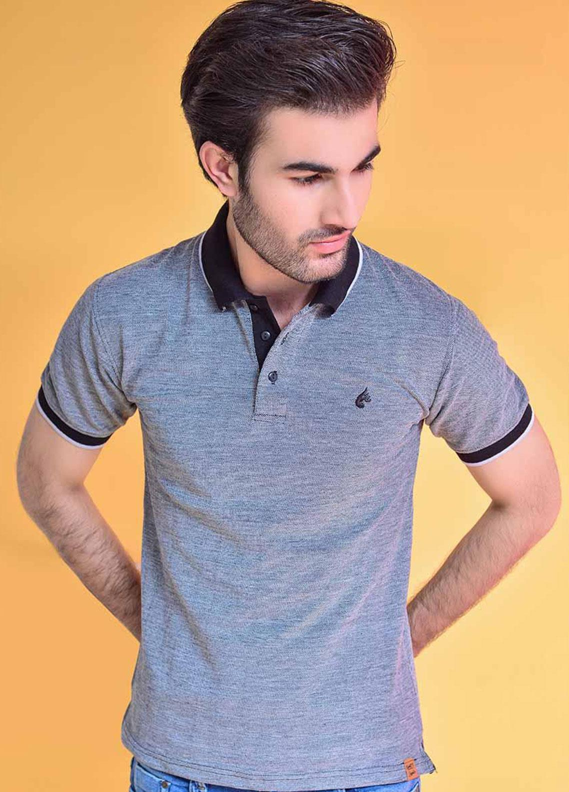 Ignite Wardrobe Cotton Dyed Polo Shirt for Men -  IG20POM 001