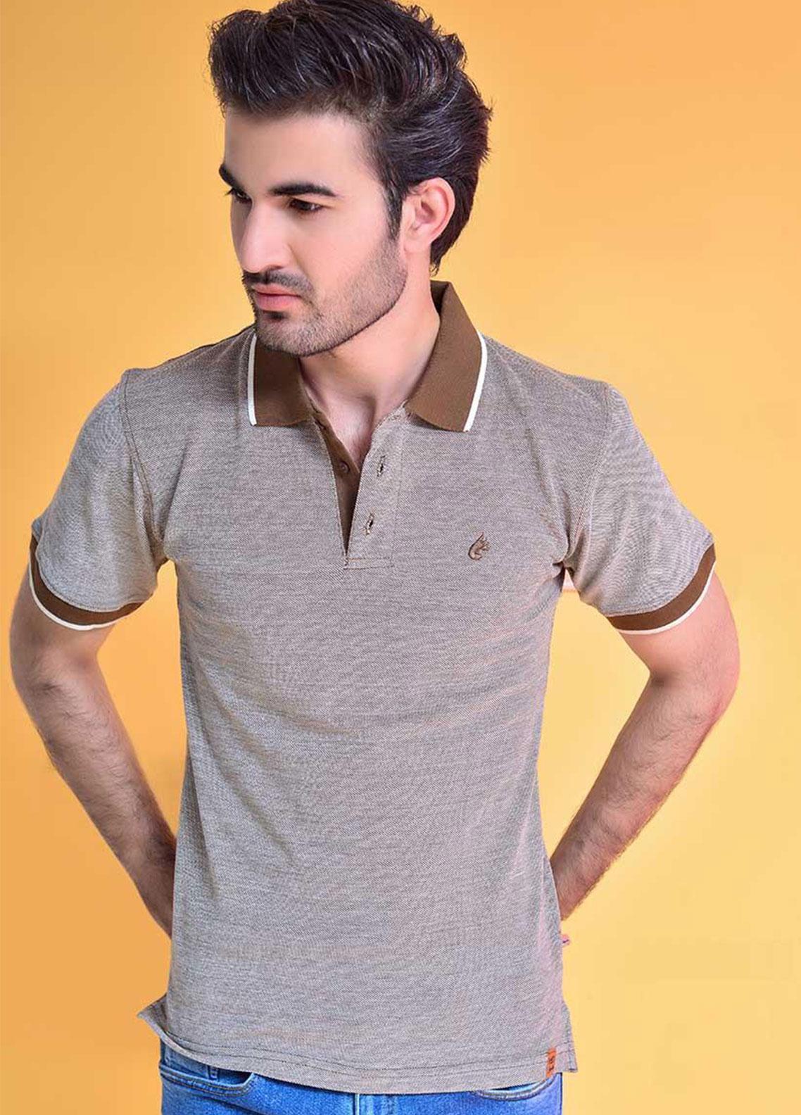 Ignite Wardrobe Cotton Dyed Polo Shirt for Men -  IG20POM 003