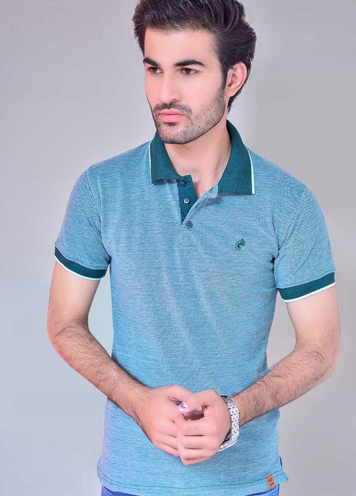 Ignite Wardrobe Cotton Dyed Men Polo Shirt - IG20POM 004