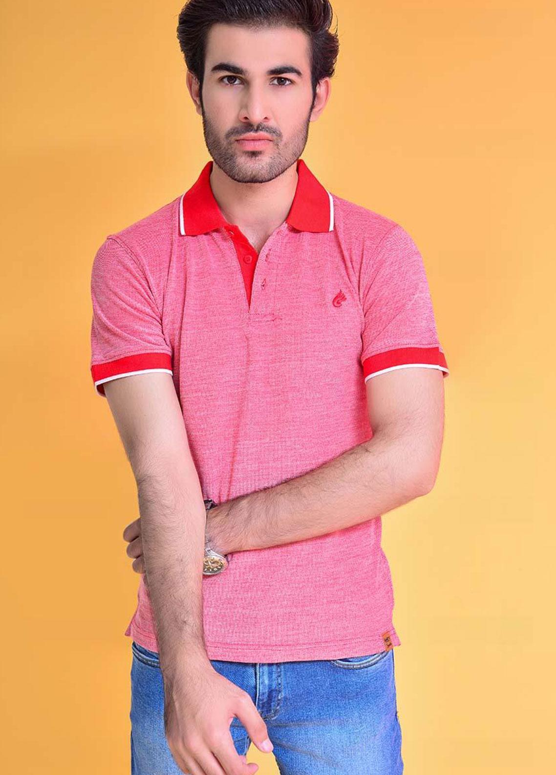 Ignite Wardrobe Cotton Dyed Polo Shirt for Men -  IG20POM 005