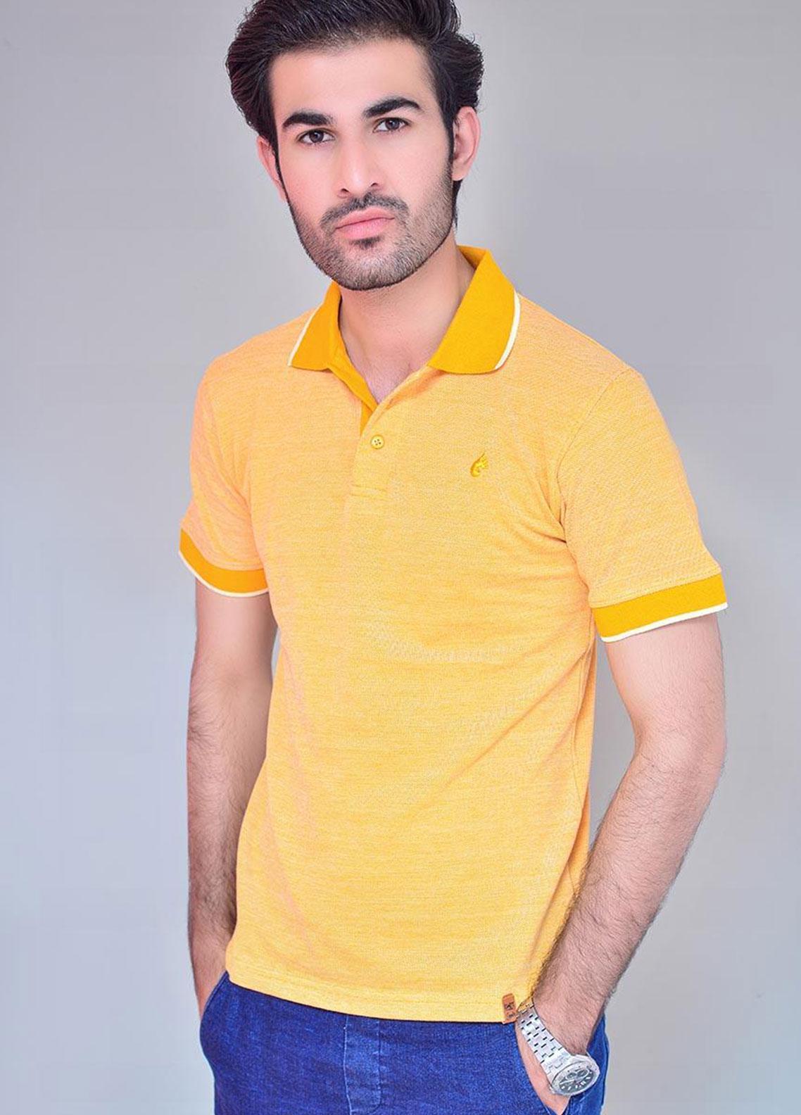 Ignite Wardrobe Cotton Dyed Men Polo Shirt -  IG20POM 006