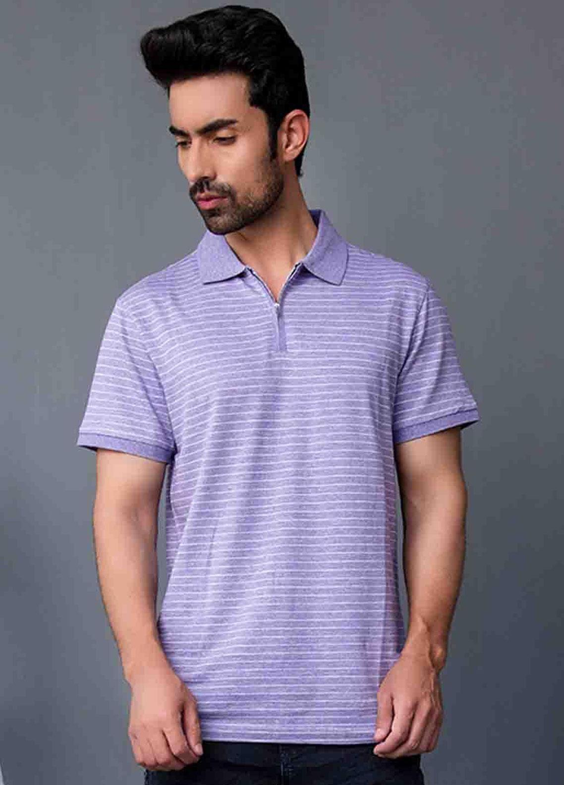 Ignite Wardrobe Cotton Printed Polo Shirt for Men -  IG20POM 011