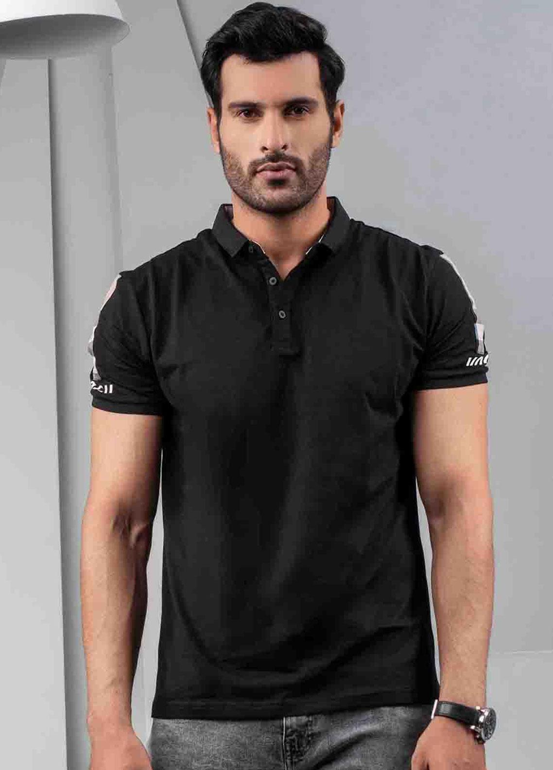 Ignite Wardrobe Cotton Casual Polo Shirt for Men -  IG20POM 013