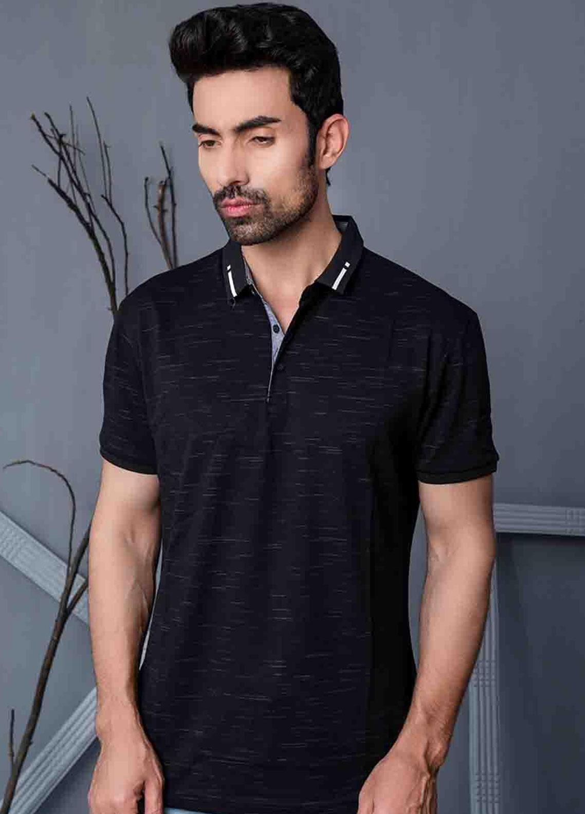 Ignite Wardrobe Cotton Printed Men Polo Shirt -  IG20POM 014