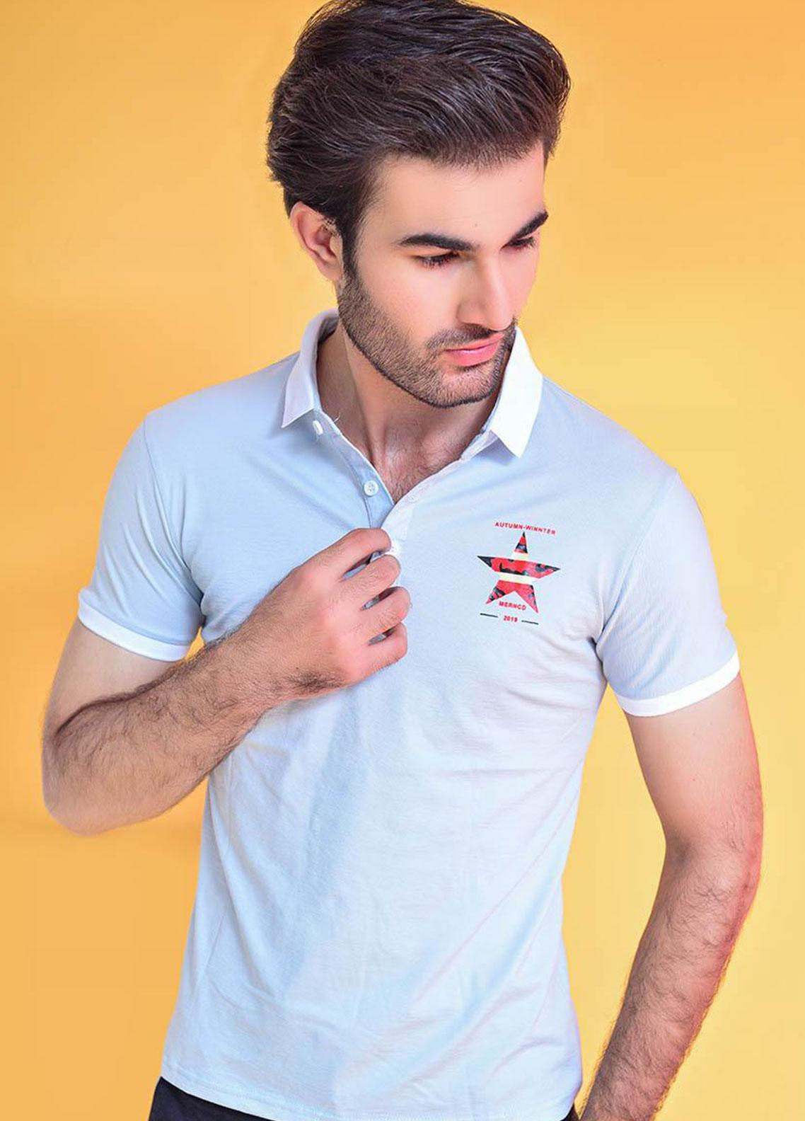 Ignite Wardrobe Polyester Casual Polo Shirt for Men -  IG20POM 017