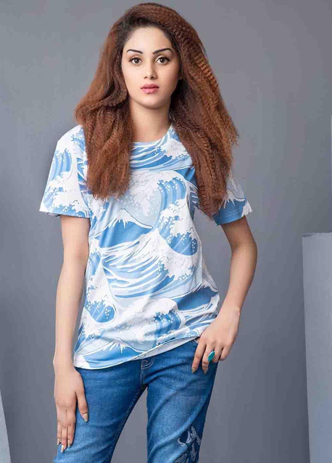 Ignite Wardrobe Digital Print Polyester T-Shirts IG20TSW 001