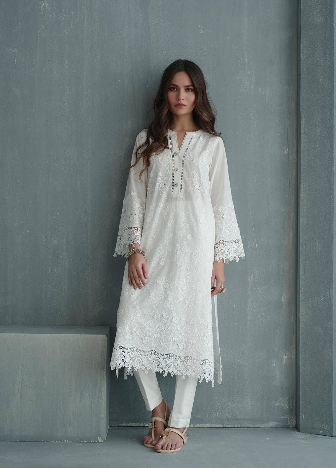 Image Embroidered Cotton Stitched Kurtis IMG19EP 781 SOFT WHISPER