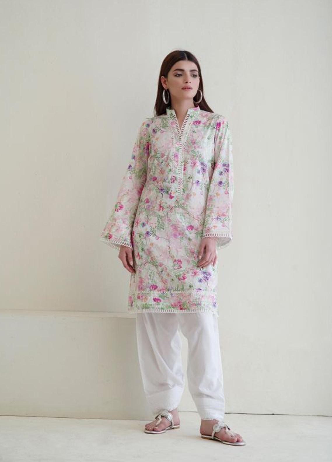 Image Printed Cotton Stitched Kurtis IMG19PP 755 LAVENDER AZU