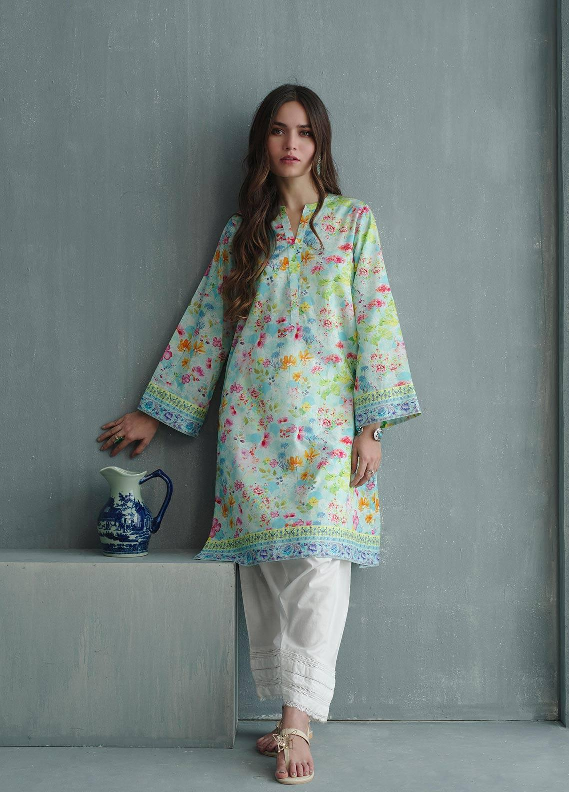 Image Printed Cotton Stitched Kurtis IMG19PP 806 TROPICAL FOREST
