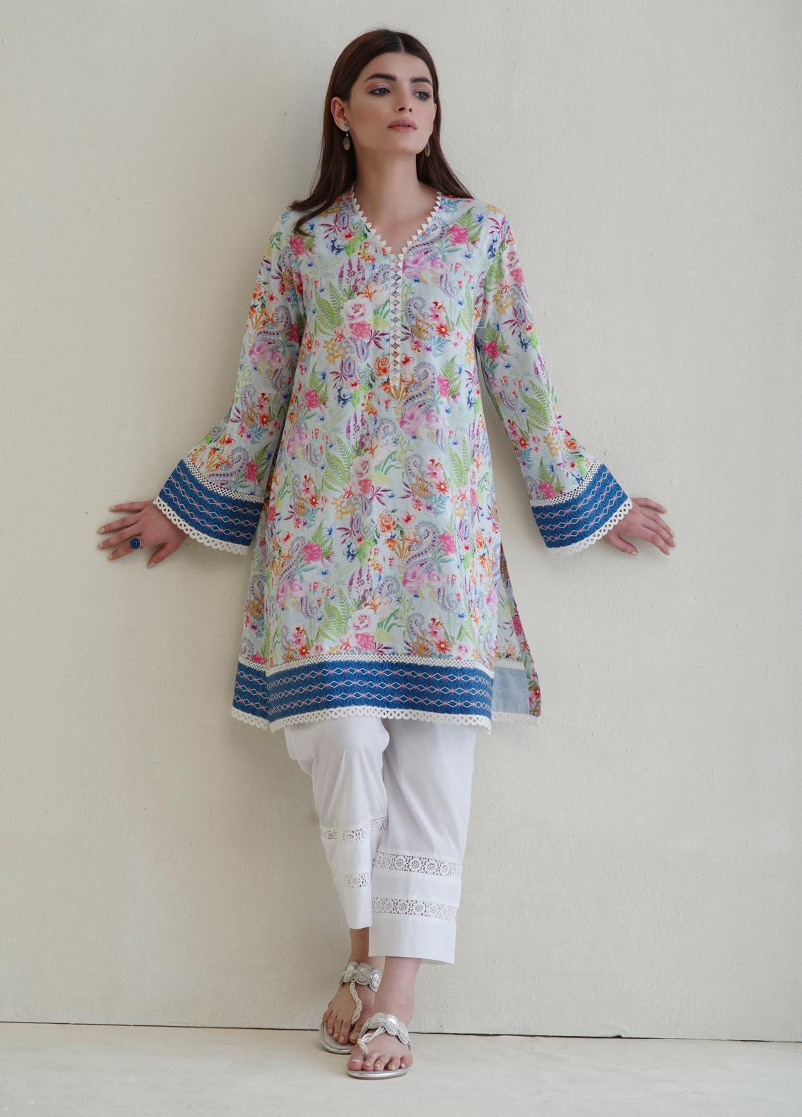 Image Printed Cotton Stitched Kurtis IMG19PP738 IRIS