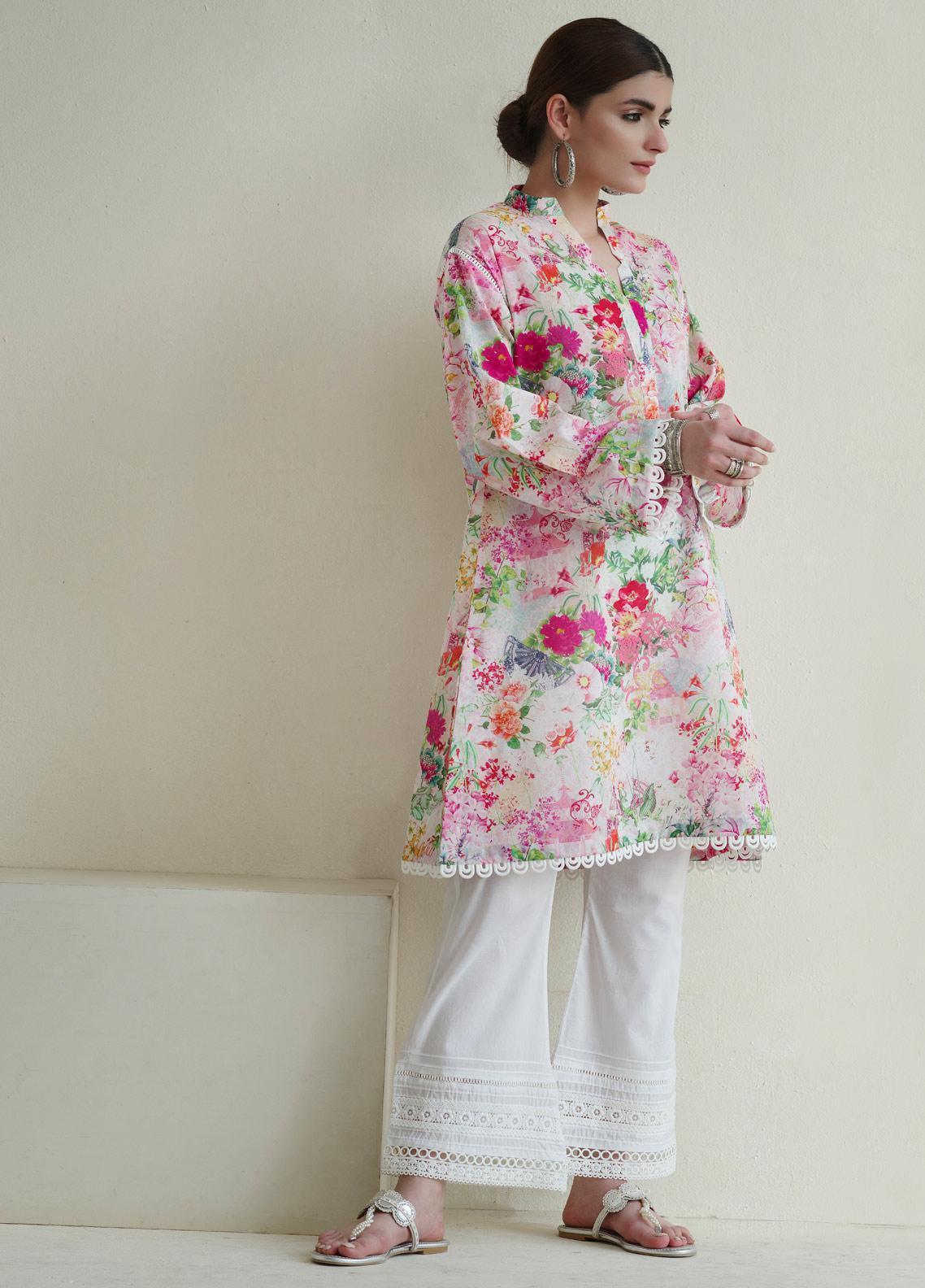 Image Printed Cotton Stitched Kurtis IMG19PP769 FLORAL KUSO