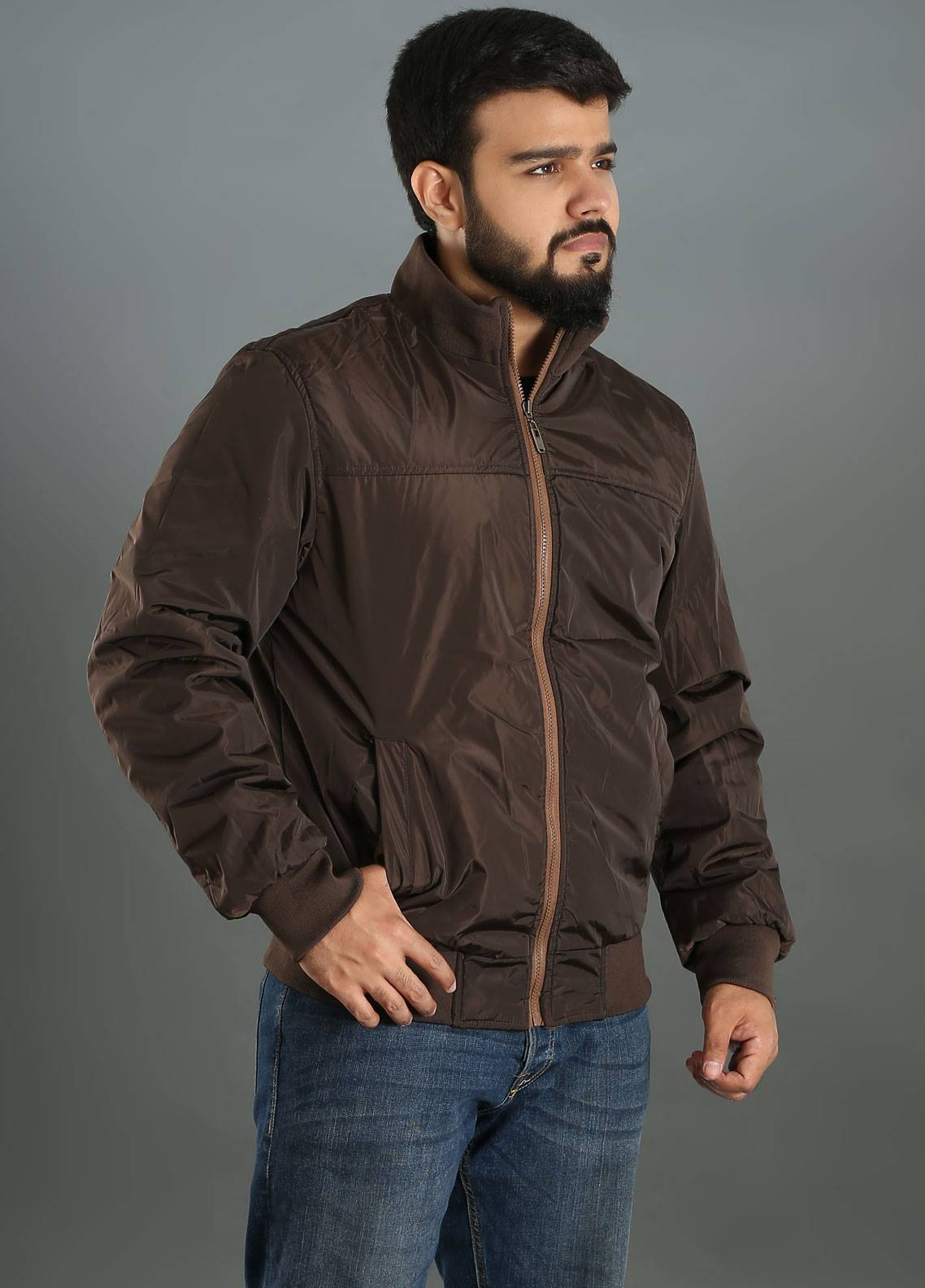 Sanaulla Exclusive Range Parachute Double Sided Jackets for Men - Two Color SAM18J 03